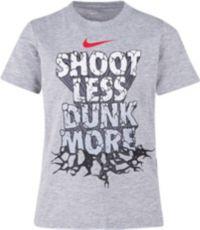 Nike Little Boys' Shoot Less Dunk More Graphic