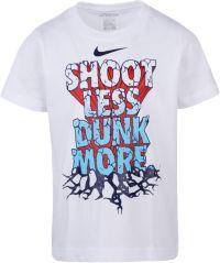 best service f39bb 05354 Nike Little Boys Shoot Less Dunk More Graphic Basketball T-Shirt  DICKS  Sporting Goods
