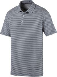 POLO de golf PUMA Caddie Stripe Hommes