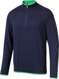 PUMA Hommes Dunluce 1/4 Zip Golf Pullover