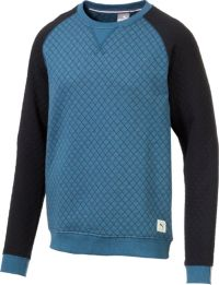 Puma Hommes Quilted Crew Neck Golf Sweater