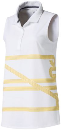 POLO de golf sans manches PUMA Script Sleeveless