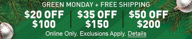 Green Monday - $25 Off Your Order of $100 or More