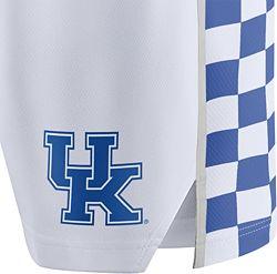 234c83a7074 Nike Men's Kentucky Wildcats Basketball White Replica Shorts