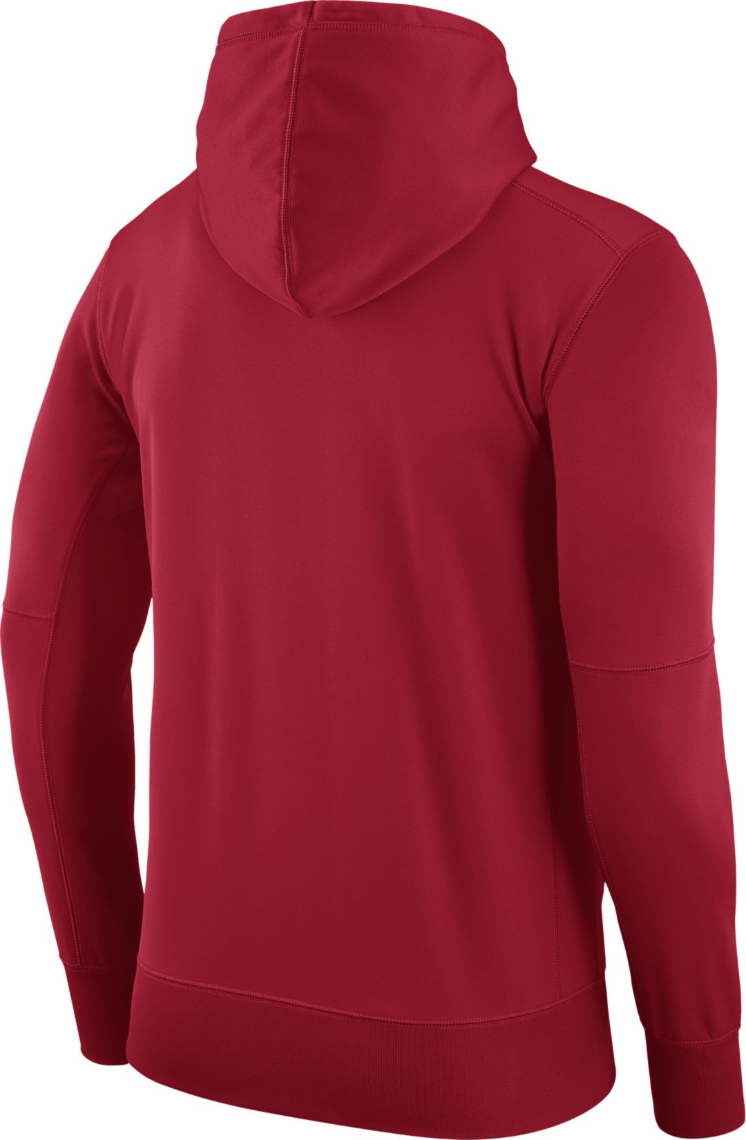 new product 9a035 b7a76 Nike Men's Washington Nationals Dri-FIT Red Therma Pullover Hoodie