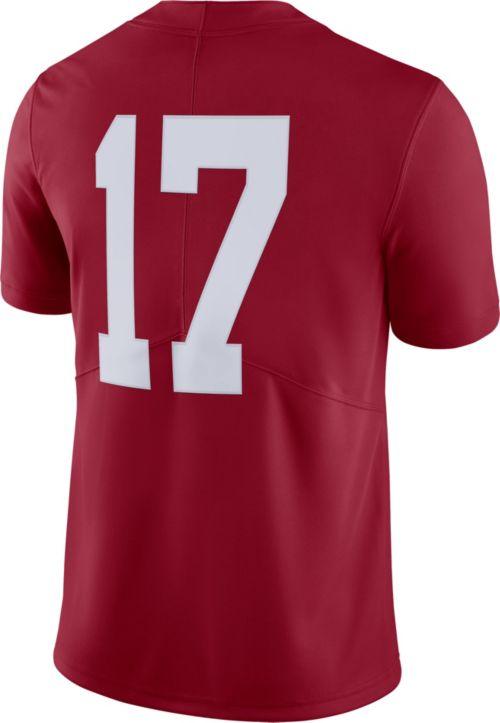 Nike Men s Alabama Crimson Tide  17 Crimson Limited Football Jersey.  noImageFound. Previous. 1. 2. 3 db227fc8b