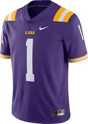 Nike Men's LSU Tigers #1 Purple Limited Football Jersey product image