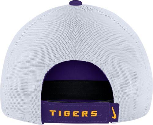 4324015dd9c Nike Men s LSU Tigers Purple Heritage86 Adjustable Trucker Hat ...