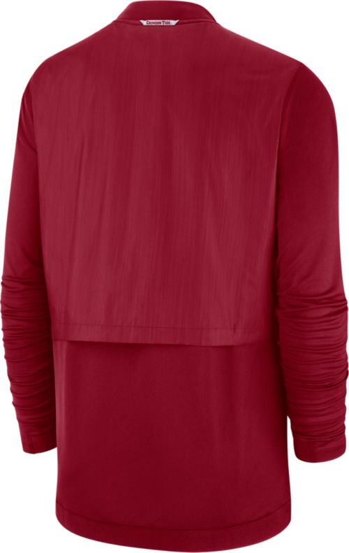 37cf9e0892a3 Nike Men s Alabama Crimson Tide Crimson Elite Hybrid Football Full-Zip  Jacket. noImageFound. Previous. 1. 2
