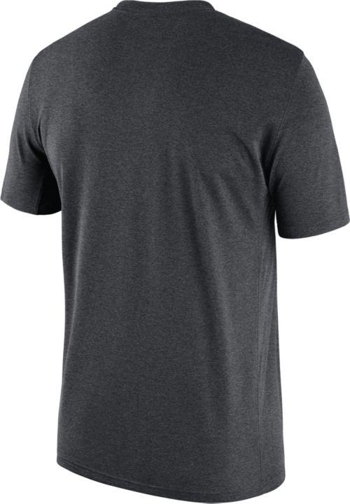 3f8ea6d026dd Nike Men s Clemson Tigers Grey Football Sideline Legend T-Shirt ...