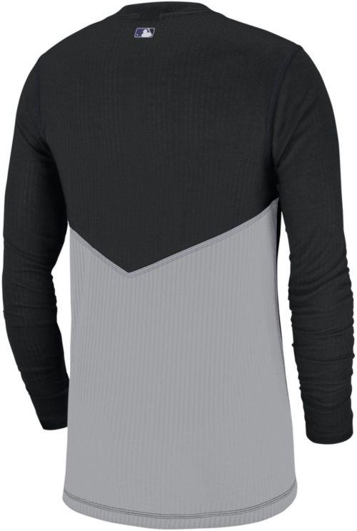 4790d711 Nike Men's Colorado Rockies Authentic Collection Dri-FIT Long Sleeve Top.  noImageFound. Previous. 1. 2
