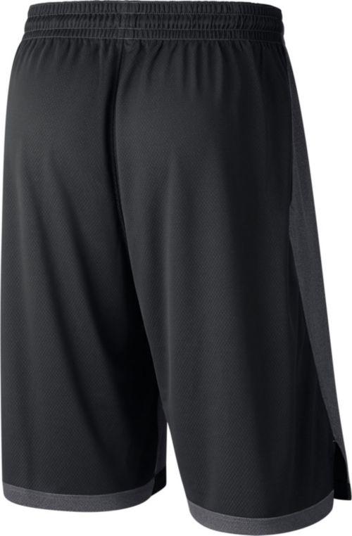 bfb1dd9cb6cd Nike Men s Ohio State Buckeyes Anthracite Dri-FIT Dribble Basketball Shorts
