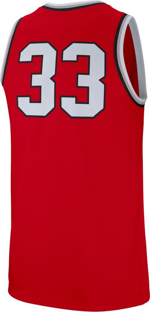 Nike Men s Ohio State Buckeyes Scarlet  33 Replica Basketball Jersey.  noImageFound. Previous. 1. 2. 3 a8f351cb4