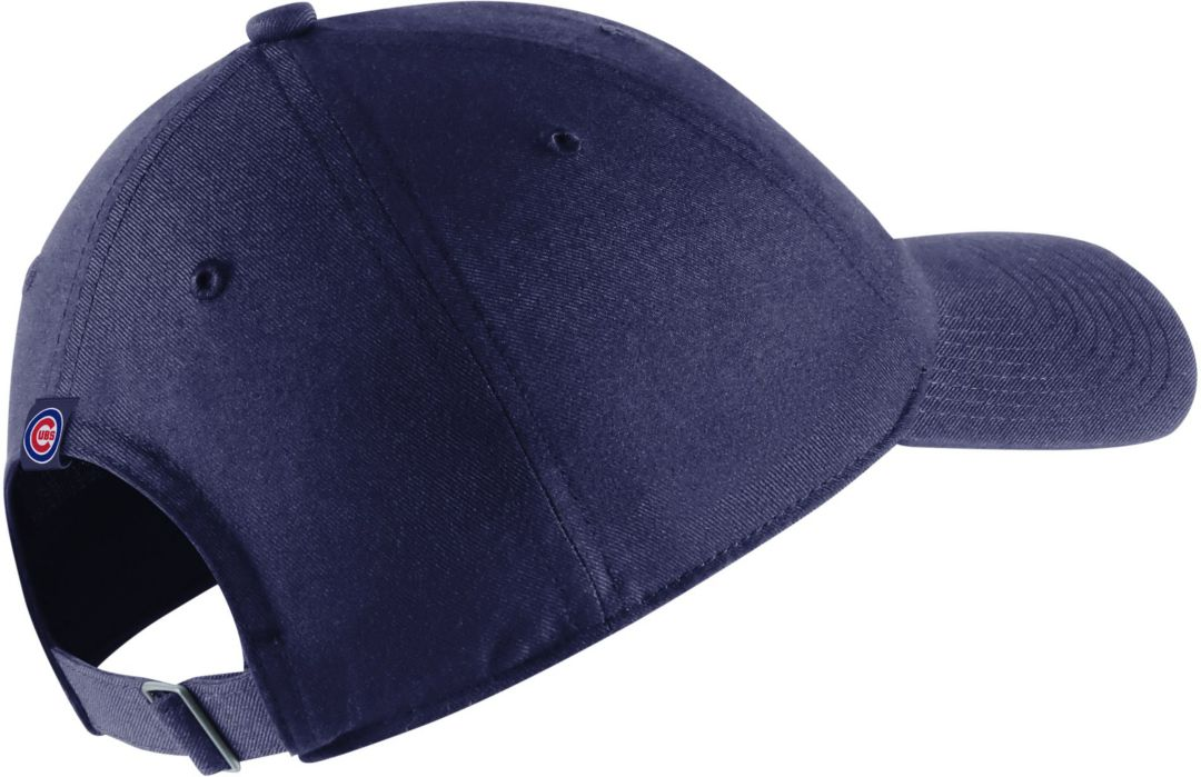 07614a38 Nike Men's Chicago Cubs H86 Arch Adjustable Hat