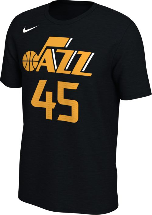 6cd37f986efb Nike Men s Utah Jazz Donovan Mitchell  45 Dri-FIT Black T-Shirt.  noImageFound. Previous