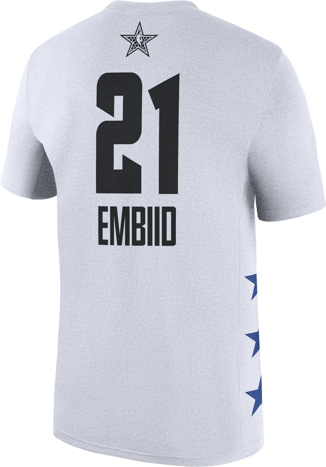 Fit Joel T Dri White Shirt All Men's Nba Jordan Star Game 2019 Embiid hQCxtrBsdo