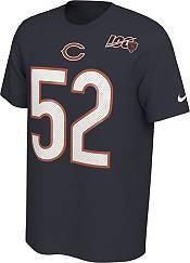 Nike Men's Chicago Bears Khalil Mack #52 100th Navy T-Shirt product image