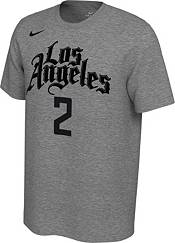 Nike Men's Los Angeles Clippers Kawhi Leonard #2 Dri-FIT Grey City Edition T-Shirt product image