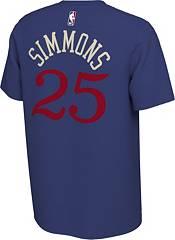 Nike Men's Philadelphia 76ers Ben Simmons #25 Dri-FIT Blue Earned Edition T-Shirt product image