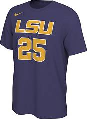 Nike Men's Ben Simmons LSU Tigers #25 Purple Basketball Jersey T-Shirt product image