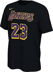 Nike Men's 2021 Earned Edition Los Angeles Lakers LeBron James T-Shirt product image