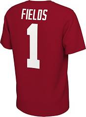 Nike Men's Ohio State Buckeyes Justin Fields #1 Scarlet Football Jersey T-Shirt product image