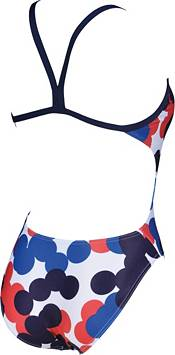 arena Women's USA Dots Challenge Back One Piece Swimsuit product image