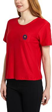 Concepts Sport Women's Chicago Fire Zest Red Short Sleeve Top product image