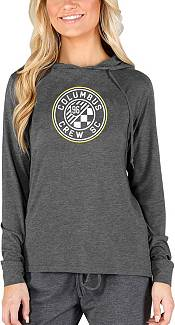 Concepts Sport Women's Columbus Crew Crescent Charcoal Long Sleeve Top product image