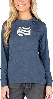 Concepts Sport Women's New England Revolution Crescent Navy Long Sleeve Top product image