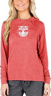 Concepts Sport Women's New York Red Bulls Crescent Red Long Sleeve Top product image