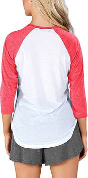 Concepts Sport Women's New York Red Bulls Crescent White Long Sleeve Top product image