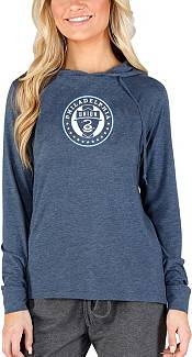 Concepts Sport Women's Philadelphia Union Crescent Navy Long Sleeve Top product image