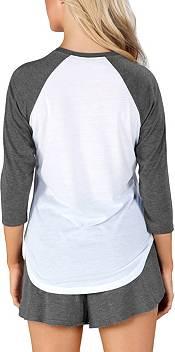 Concepts Sport Women's Colorado Rapids Crescent White Long Sleeve Top product image