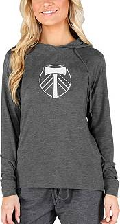 Concepts Sport Women's Portland Timbers Crescent Charcoal Long Sleeve Top product image