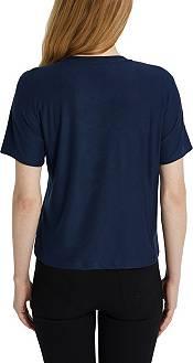 Concepts Sport Women's Real Salt Lake Zest Navy Short Sleeve Top product image
