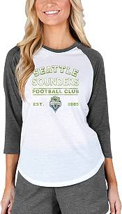 Concepts Sport Women's Seattle Sounders Crescent White Long Sleeve Top product image