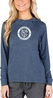 Concepts Sport Women's New York City FC Crescent Navy Long Sleeve Top product image