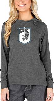 Concepts Sport Women's Minnesota United FC Crescent Charcoal Long Sleeve Top product image