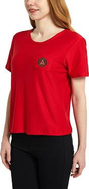 Concepts Sport Women's Atlanta United Zest Red Short Sleeve Top product image