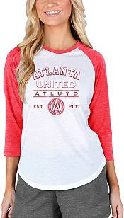 Concepts Sport Women's Atlanta United Crescent White Long Sleeve Top product image