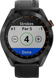 Garmin Approach S40 Golf GPS Watch with CT10 Club Tracking Sensors product image