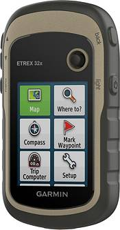 Garmin eTrex 32x Rugged Handheld GPS with Navigation Sensors product image