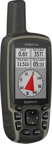 Garmin GPSMAP 64sx Handheld GPS with Navigation Sensors product image