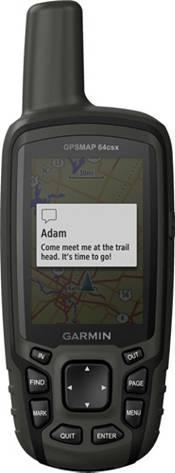 Garmin GPSMAP 64csx Handheld GPS with Navigation Sensors and Camera product image