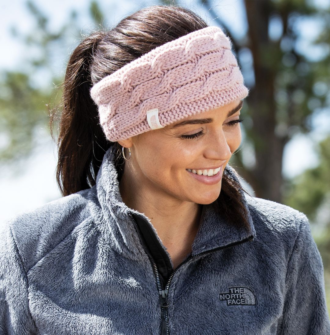 cd1faa052881b The North Face Women s Fuzzy Cable Ear Band 2