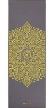 Gaiam 5mm Citron Sundial Yoga Mat product image