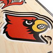 "You The Fan Louisville Cardinals 8""x32"" 3-D Banner product image"