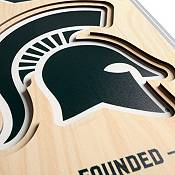 """You The Fan Michigan State Spartans 8""""x32"""" 3-D Banner product image"""