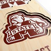 """You The Fan Mississippi State Bulldogs 8""""x32"""" 3-D Banner product image"""